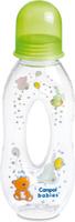 Купить Canpol Babies Бутылочка с силиконовым носиком от 6 месяцев цвет зеленый 250 мл, Бутылочки