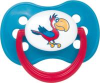 Купить Canpol Babies Пустышка силиконовая круглая Animals от 0 до 6 месяцев цвет бирюзовый, Пустышки