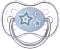 Купить Canpol Babies Пустышка силиконовая симметричная Newborn Baby от 0 до 6 месяцев цвет голубой, Пустышки