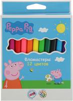 Купить Peppa Pig Набор фломастеров 12 цветов, Фломастеры