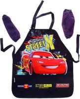Купить Disney Фартук детский для труда с нарукавниками Cars, Аксессуары для труда