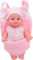 Купить ABtoys Пупс озвученный Мой малыш цвет розовый белый, Куклы и аксессуары