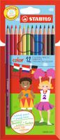 Купить Stabilo Набор цветных карандашей Color 12 цветов 1912/77-11, Карандаши