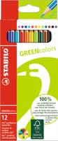 Купить STABILO Набор цветных карандашей Green Colors 12 шт, Карандаши