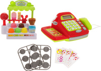 Купить ABtoys Игровой набор Помогаю Маме Магазин мороженого, Сюжетно-ролевые игрушки