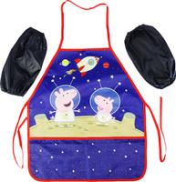 Купить Peppa Pig Фартук детский с нарукавниками Космос, Аксессуары для труда