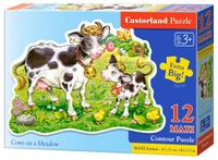 Купить Castorland Пазл для малышей Коровки на лугу, Обучение и развитие