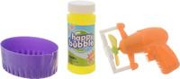 Купить Junfa Toys Набор для пускания мыльных пузырей цвет оранжевый, ABtoys, Мыльные пузыри
