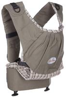 Купить Эргономический слинго-рюкзак Бебимобиль , цвет: серый, Чудо-Чадо