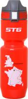 Купить Фляга велосипедная STG Tour de France , цвет: красный, 750 мл. ED-BT21 Уцененный товар (№1), Фляги и флягодержатели