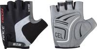Купить Перчатки велосипедные STG AI-03-176 , летние, цвет: черный, серый. Размер XL, Велоперчатки