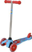 Купить Самокат детский трехколесный 1 Toy Фиксики , со светящимися колесами, цвет: голубой. Т58463, 1TOY, Самокаты