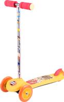 Купить Самокат детский 1TOY Looney Tunes , трехколесный, цвет: желтый, Самокаты