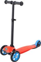 Купить Самокат детский трехколесный 1 Toy , со светящимися колесами, цвет: красный. Т59690, 1TOY, Самокаты