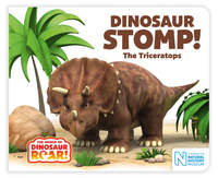 Купить Dinosaur Stomp! The Triceratops, Зарубежная литература для детей