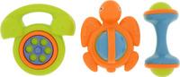 Купить Ути-Пути Набор погремушек цвет телефона салатовый 3 шт, Первые игрушки
