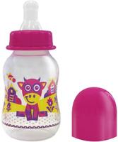 Купить Lubby Бутылочка для кормления с силиконовой соской Русские мотивы от 0 месяцев 120 мл, Бутылочки