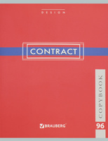 Купить Brauberg Тетрадь Contract 96 листов в клетку цвет красный 400523, Тетради