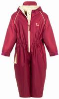 Купить Комбинезон детский Hippychick, цвет: вишневый. 002001200381. Размер 80/86, 12-18 месяцев, Одежда для новорожденных