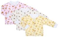 Купить Комплект кофточек для девочки Фреш стайл, цвет в ассортименте, 3 шт. 10-201д. Размер 86, 18 месяцев, Фреш Стайл, Одежда для новорожденных