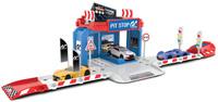Купить Majorette Парковка Creatix Gran Turismo с машинкой, Треки и парковки