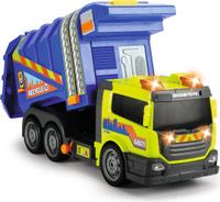 Купить Dickie Toys Мусоровоз цвет синий желтый, Машинки