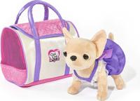 Купить Simba Мягкая игрушка Собачка Чихуахуа в платье с сумкой 20 см, Мягкие игрушки