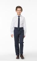 Купить Брюки для мальчика Смена, цвет: синий. 16с764-D6. Размер 146/152, Одежда для мальчиков