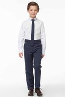 Купить Брюки для мальчика Смена, цвет: темно-синий. 16с260. Размер 146/152, Одежда для мальчиков