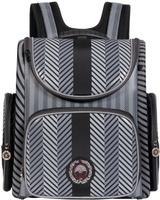 Купить Grizzly Ранец школьный цвет черный RA-667-7, Ранцы и рюкзаки