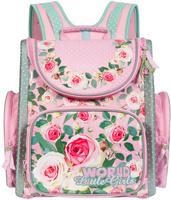Купить Grizzly Ранец школьный цвет розовый RA-668-4, Ранцы и рюкзаки