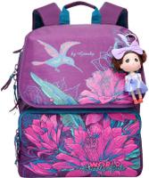 Купить Grizzly Рюкзак цвет фиолетовый RA-672-1, Ранцы и рюкзаки