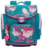 Купить Grizzly Ранец школьный цвет бирюзовый RA-676-1, Ранцы и рюкзаки