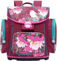 Купить Grizzly Ранец школьный цвет фиолетовый RA-676-1, Ранцы и рюкзаки