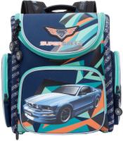 Купить Grizzly Ранец школьный цвет синий RA-770-4, Ранцы и рюкзаки