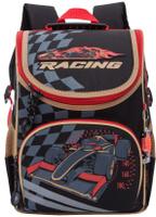 Купить Grizzly Ранец школьный цвет черный RA-772-1, Ранцы и рюкзаки