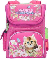 Купить Grizzly Ранец школьный цвет фуксия RA-781-1, Ранцы и рюкзаки