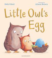 Купить Little Owl's Egg, Зарубежная литература для детей