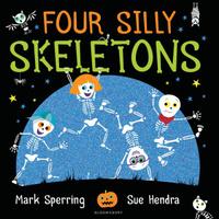 Купить Four Silly Skeletons, Зарубежная литература для детей