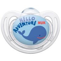 Купить NUK Пустышка силиконовая для сна Freestyle. Кит , от 18 до 36 месяцев, ортодонтическая, Пустышки