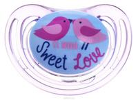 Купить NUK Пустышка силиконовая для сна Freestyle. Птички , от 18 до 36 месяцев, ортодонтическая, Пустышки