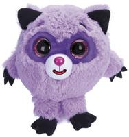 Купить 1TOY Мягкая озвученная игрушка Дразнюка-Zooка Енот 13 см, Мягкие игрушки