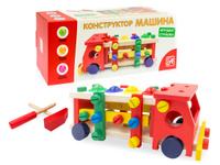 Купить Анданте Развивающая игра Стучалка-конструктор Машинка Шарики, Развивающие игрушки