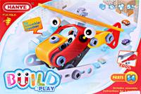 Купить ToyToys Конструктор Вертолет TOTO-015, Конструкторы