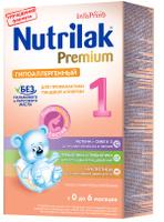 Купить Nutrilak Premium гипоаллергенный 1 смесь с 0 месяцев, 350 г, Заменители материнского молока и сухие смеси
