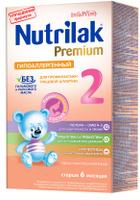 Купить Nutrilak Premium гипоаллергенный 2 смесь с 6 месяцев, 350 г, Заменители материнского молока и сухие смеси