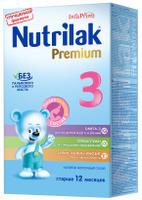 Купить Nutrilak Premium 3 напиток молочный с 12 месяцев, 350 г, Заменители материнского молока и сухие смеси