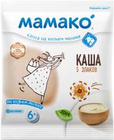 Купить Мамако каша 5 злаков на козьем молоке, 30 г, Детское питание