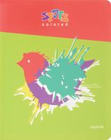Купить Полиграфика Тетрадь Клякса 96 листов в клетку, Тетради