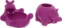 Купить Весна Игрушка для ванной Бегемотики цвет фуксия, Первые игрушки
